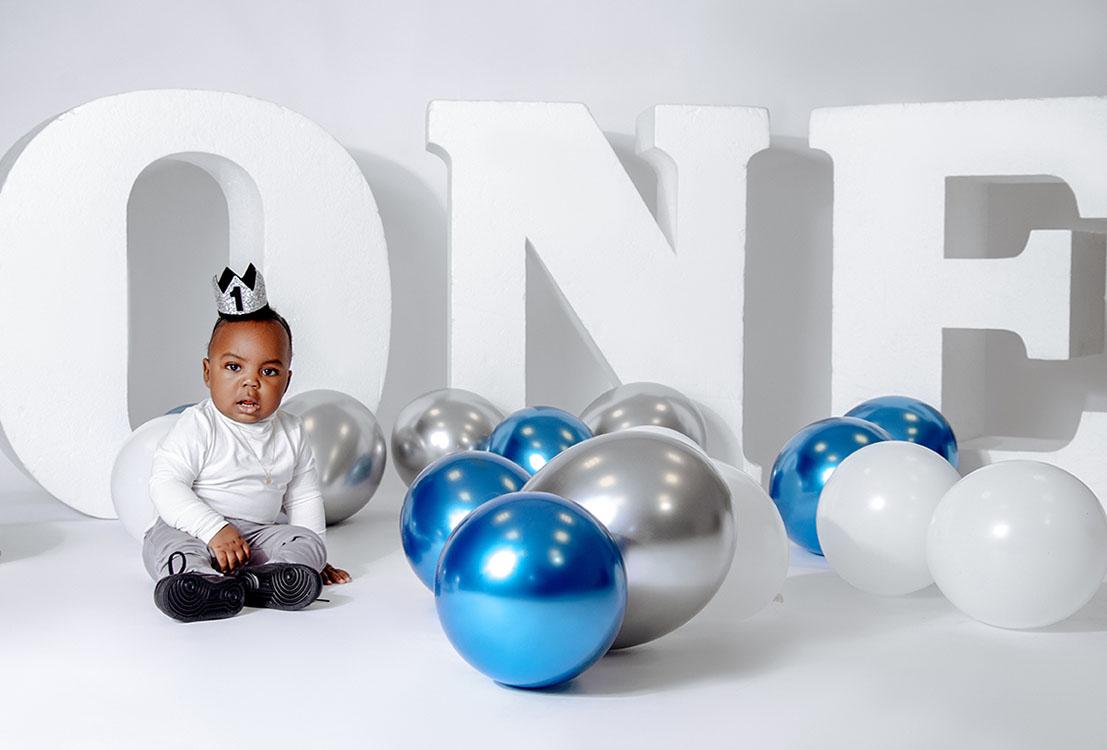 verjaardag shoot baby